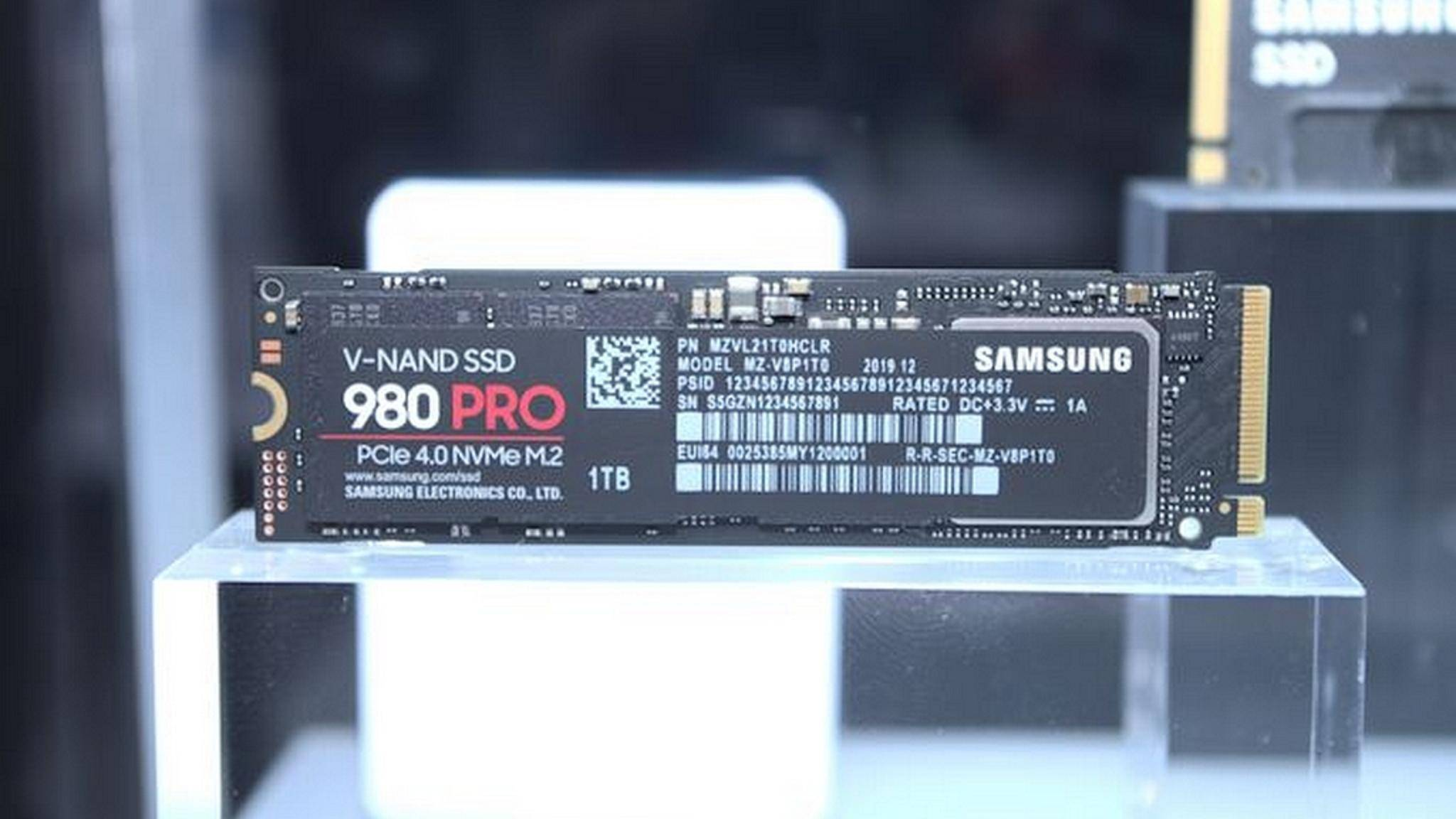 Die Samsung 980 Pro wurde im Vorfeld gar nicht angekündigt.