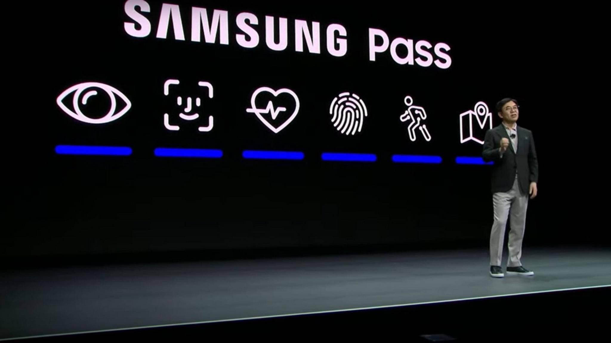 Die zweite Grafik von links erinnert frappierend an das Face-ID-Icon.