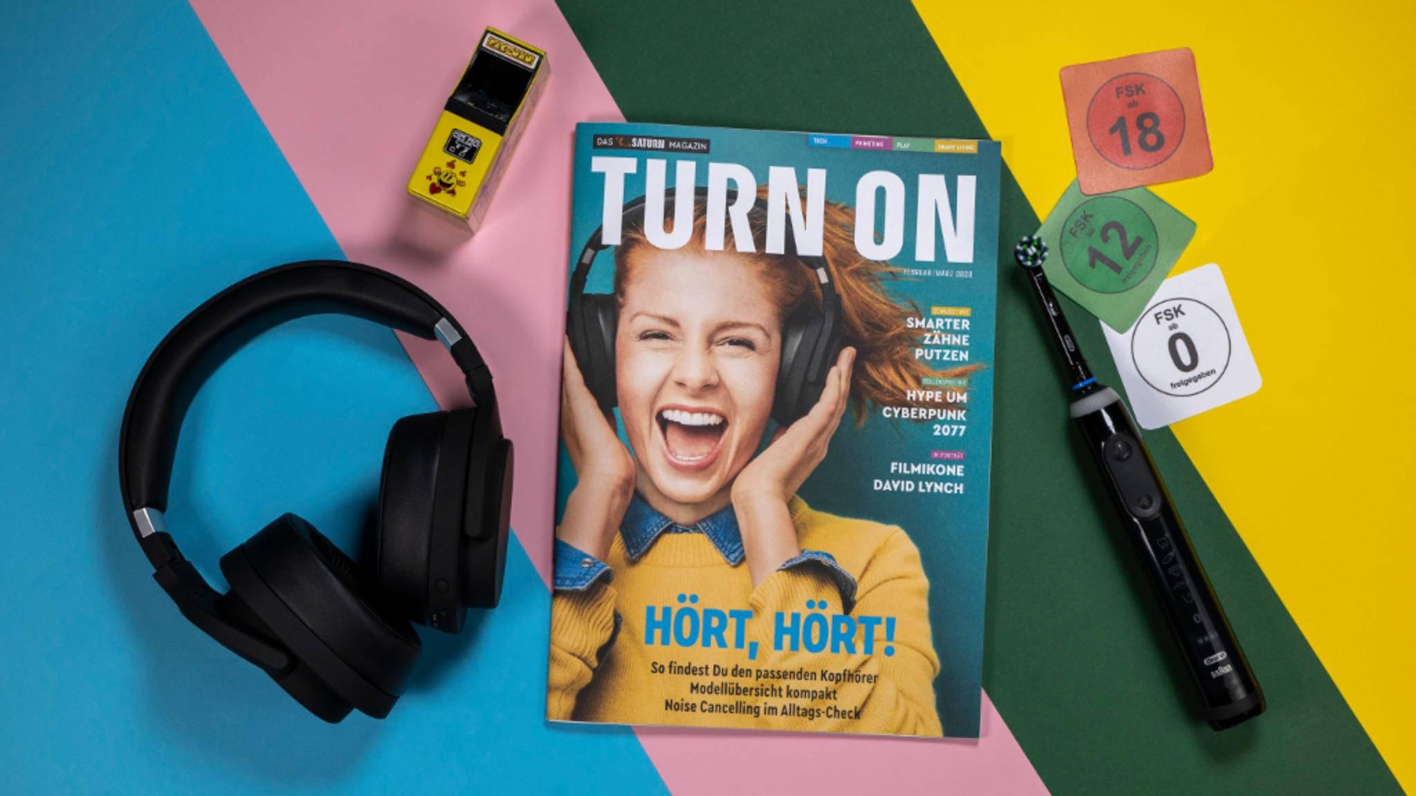 Die Ausgabe 1/20 unseres TURN ON Magazins dreht sich unter anderem um Kopfhörer.