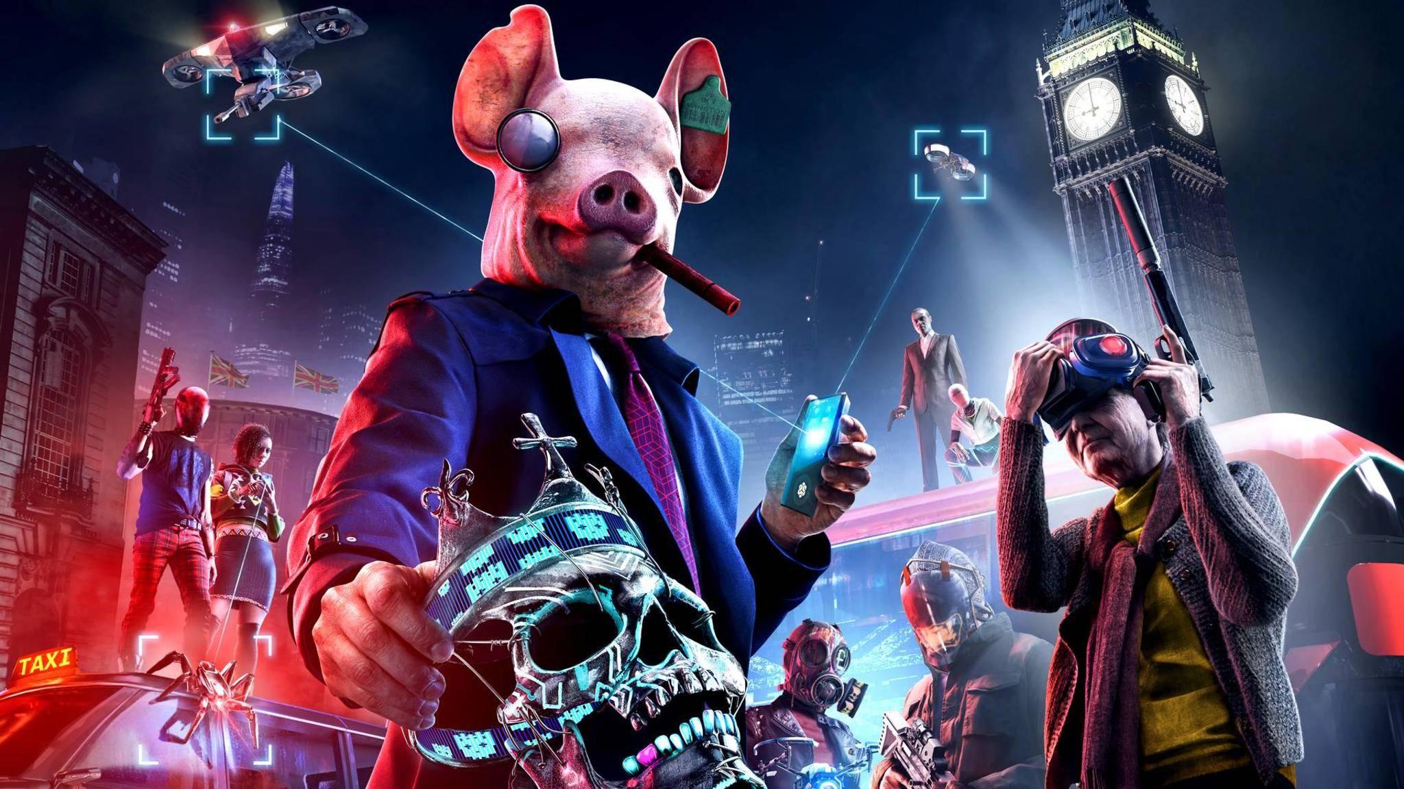 """""""Watch Dogs Legion"""" verspricht, ein großer Open-World-Spielplatz zu werden."""
