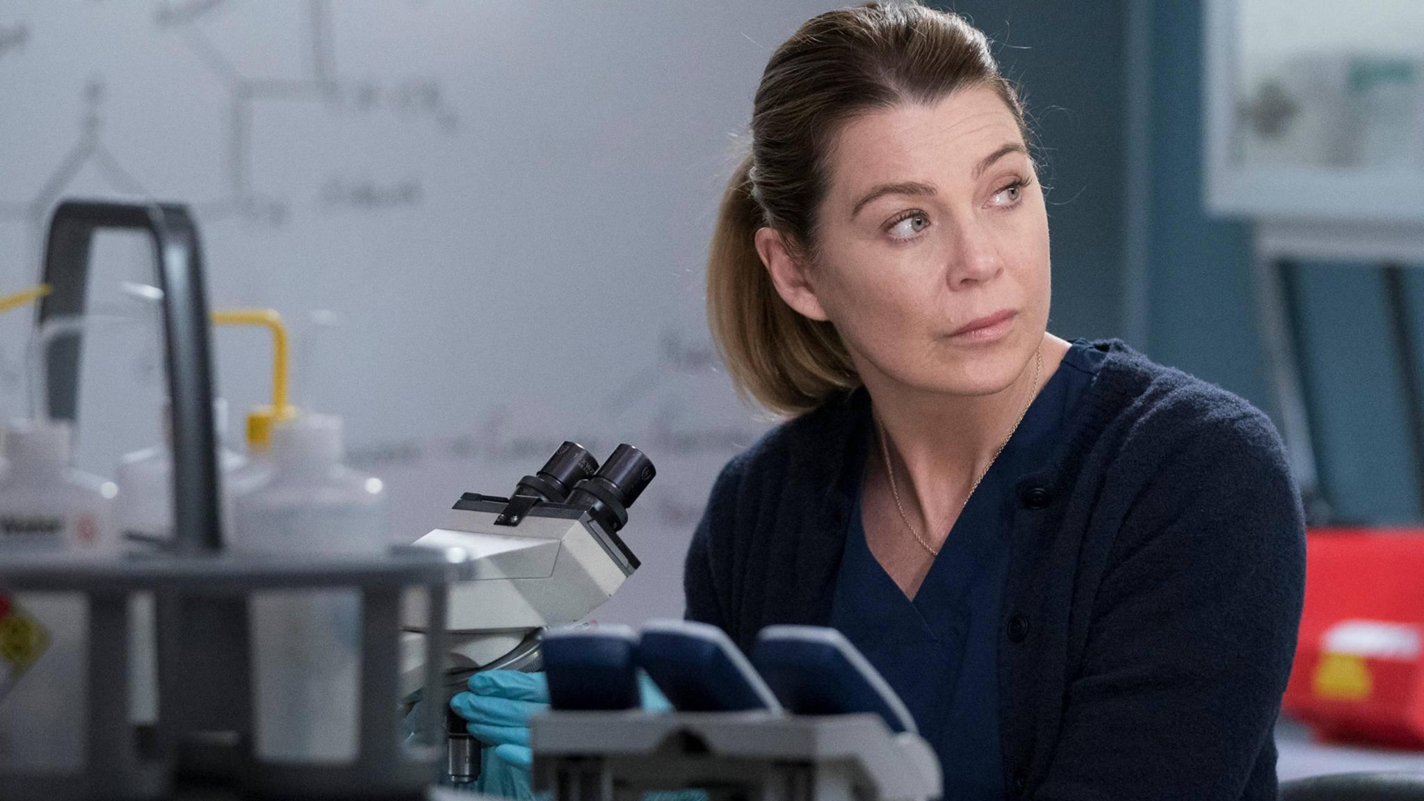 ELLEN POMPEO Meredith Grey grey's anatomy