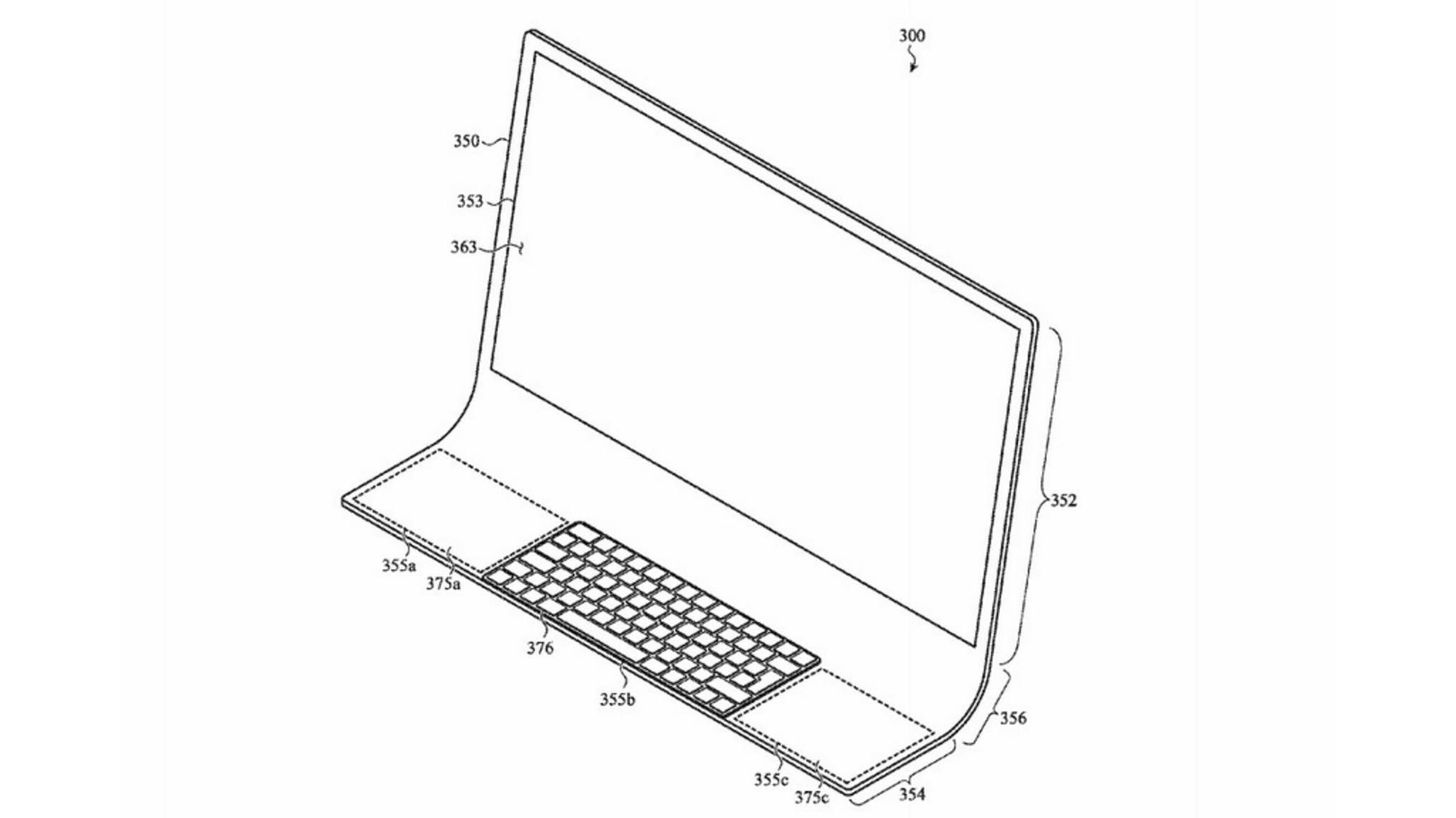 So könnte ein neuer iMac aussehen.