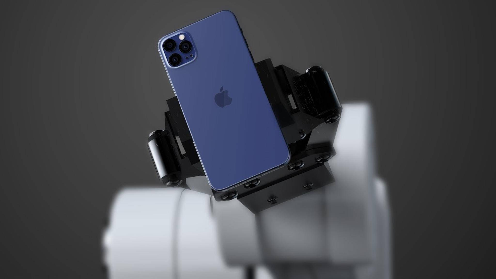iPhone 12 Navy Blue Konzept
