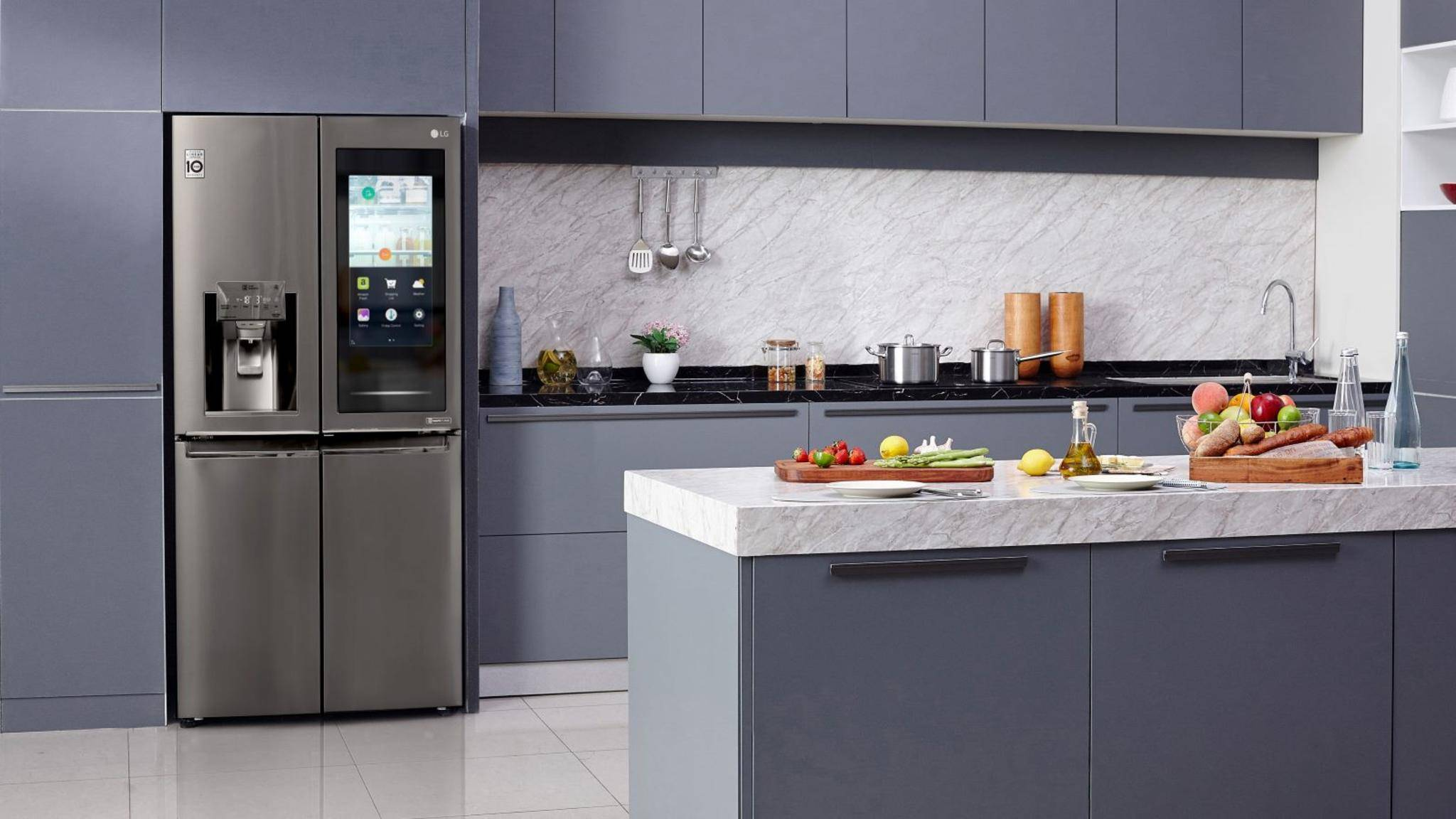 InstaView-Kühlschrank