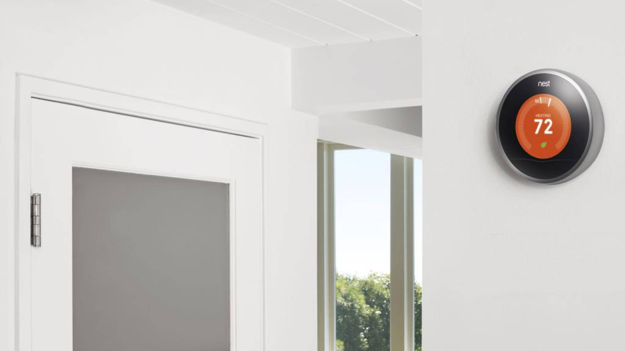 nest thermostat wand
