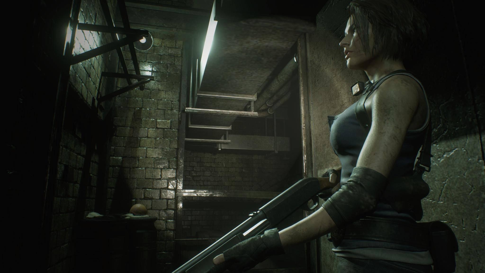 resident-evil-3-jill-shotgun