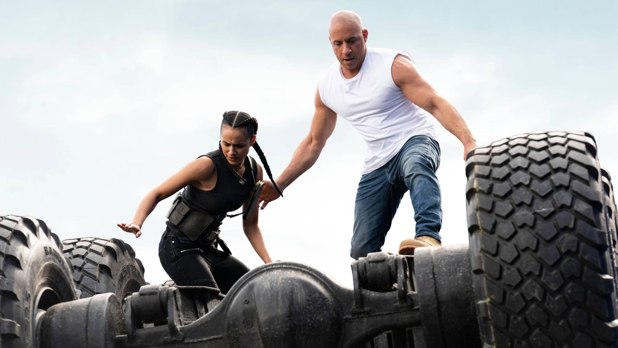 Fast & Furious 9 Nathalie Emmanuel und Vin Diesel