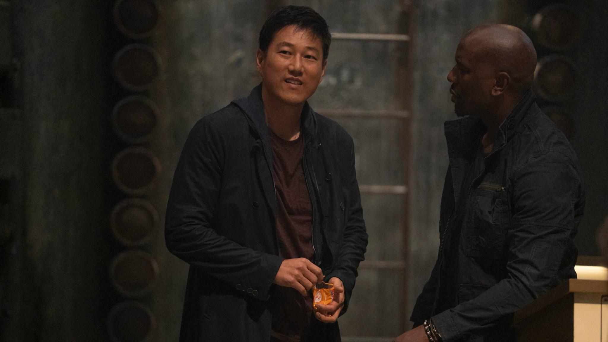 Fast & Furious 9 Sung Kang als Han und Tyrese Gibson als Roman
