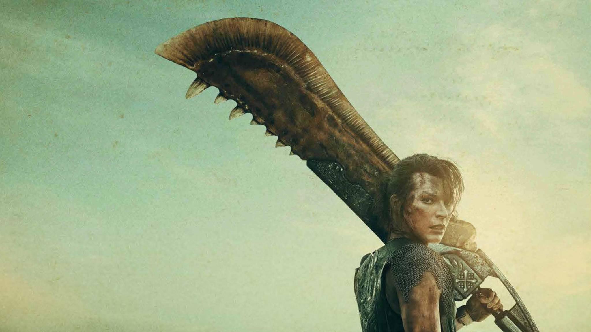 Monster Hunter Milla Jovovich