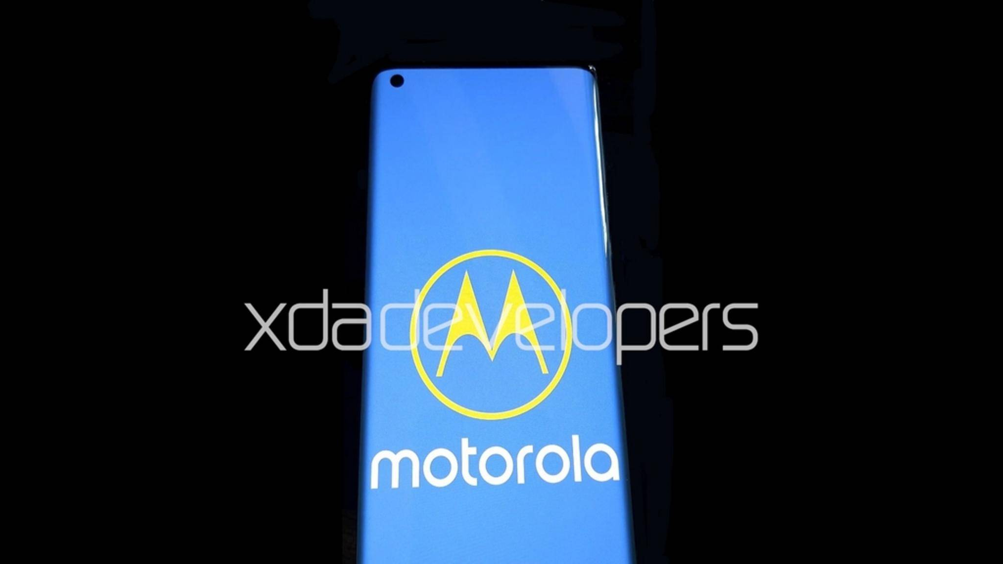 So soll das neue Motorola-Flaggschiff aussehen.