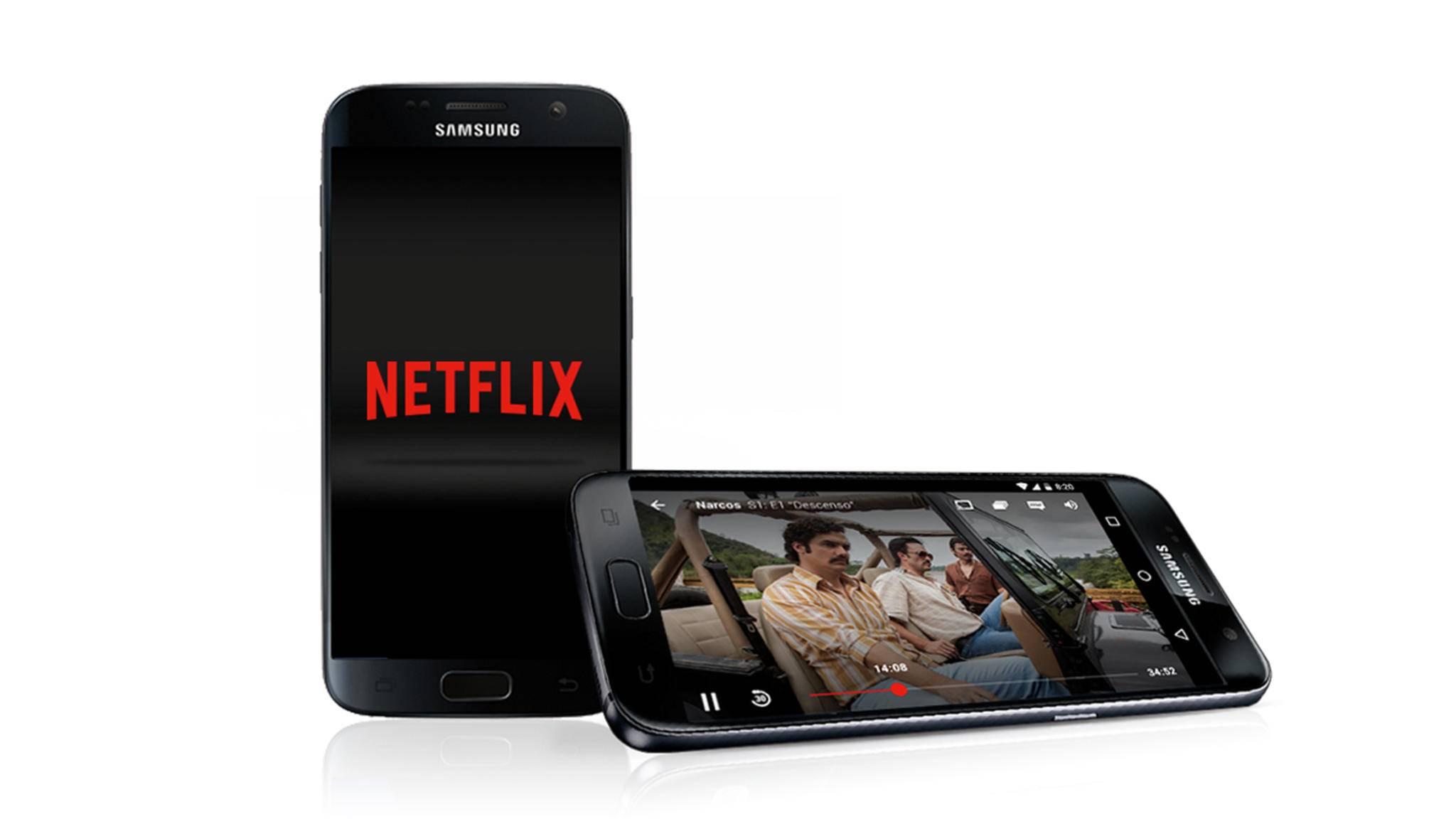 Weniger Datenverbrauch bei besserer Qualität: Ein Update der Netflix-App macht's möglich.