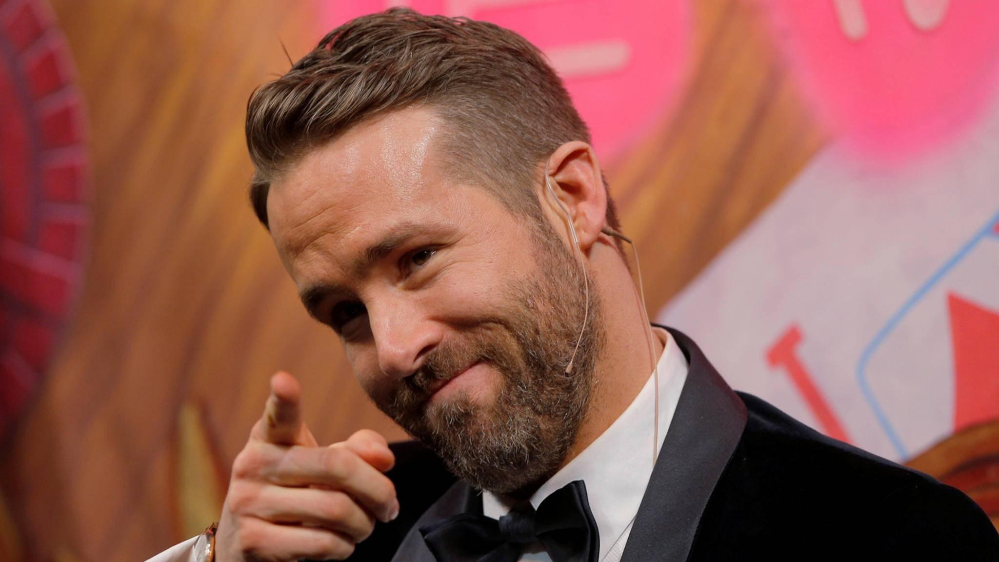 Glückwunsch! Ryan Reynolds hat vielleicht einen neuen Deal an Land gezogen.