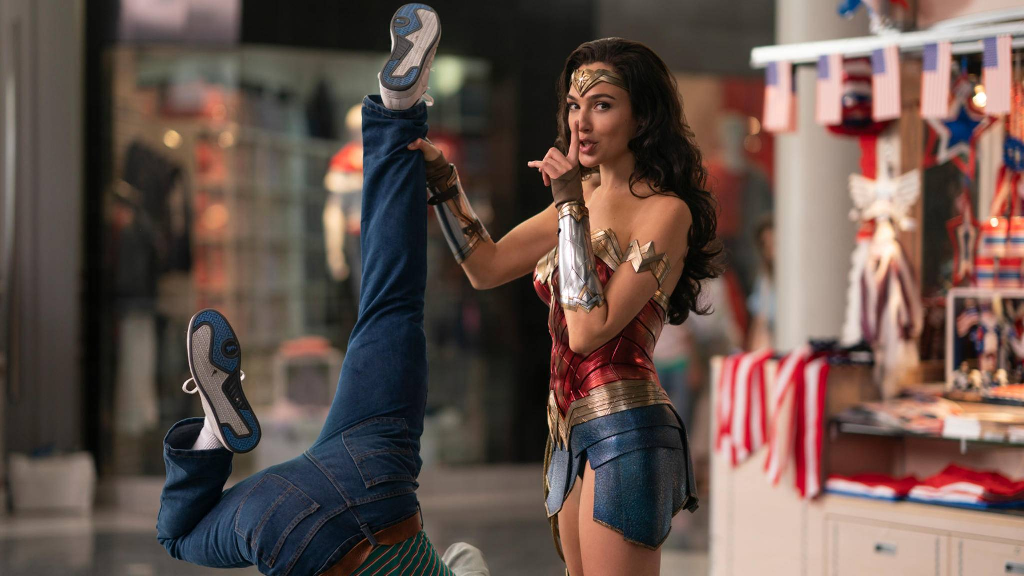 Wonder Woman 1984 Gal Gadot Mall-Kampfszene