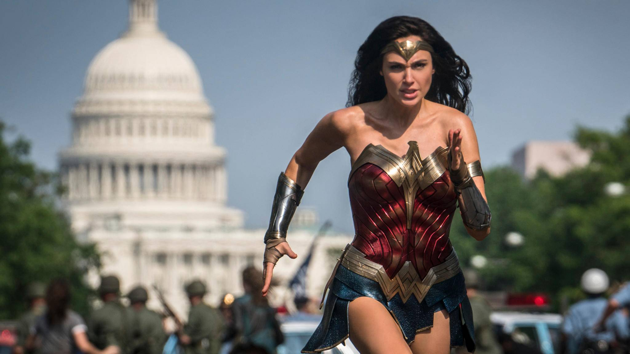 Wonder Woman 1984 Gal Gadot in Washington