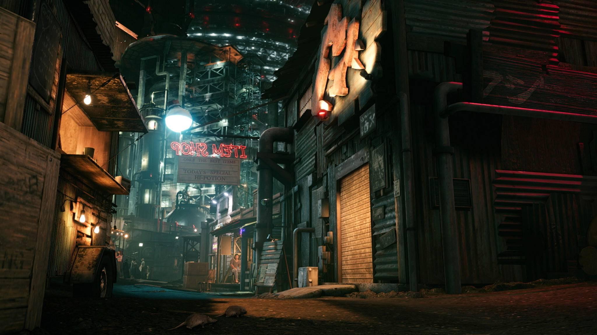 Final Fantasy VII Remake Slum