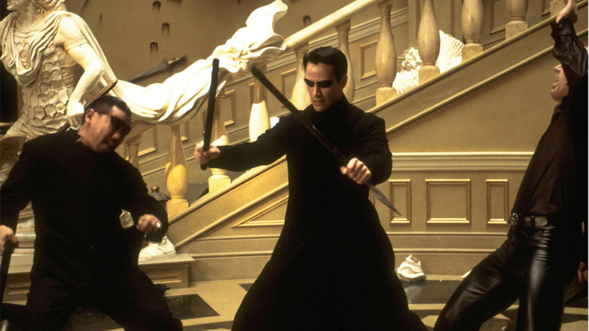 matrix reloaded keanu reeves