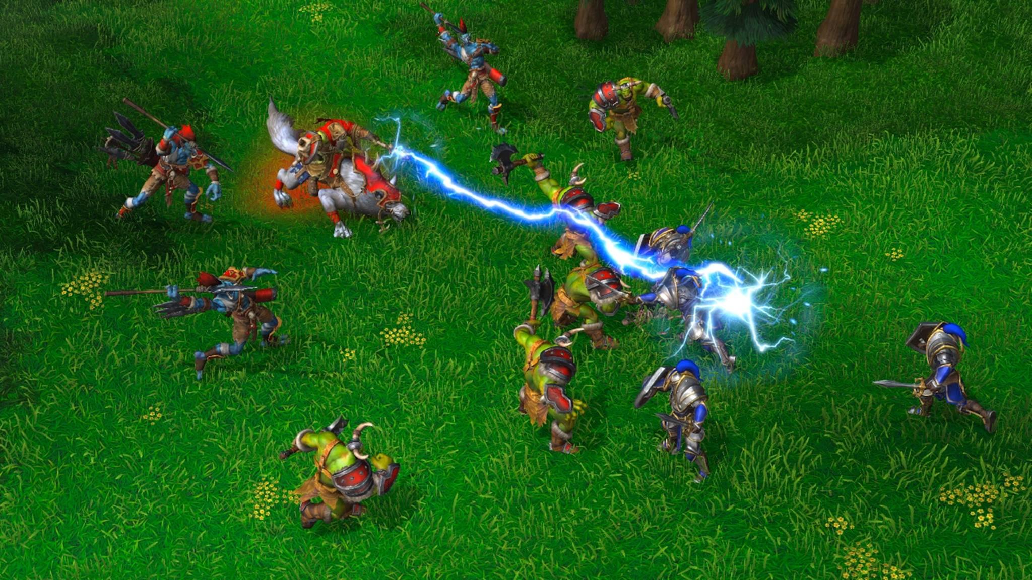 """Mit Hotkeys kämpft es sich in """"Warcraft 3 Reforged"""" deutlich effektiver."""