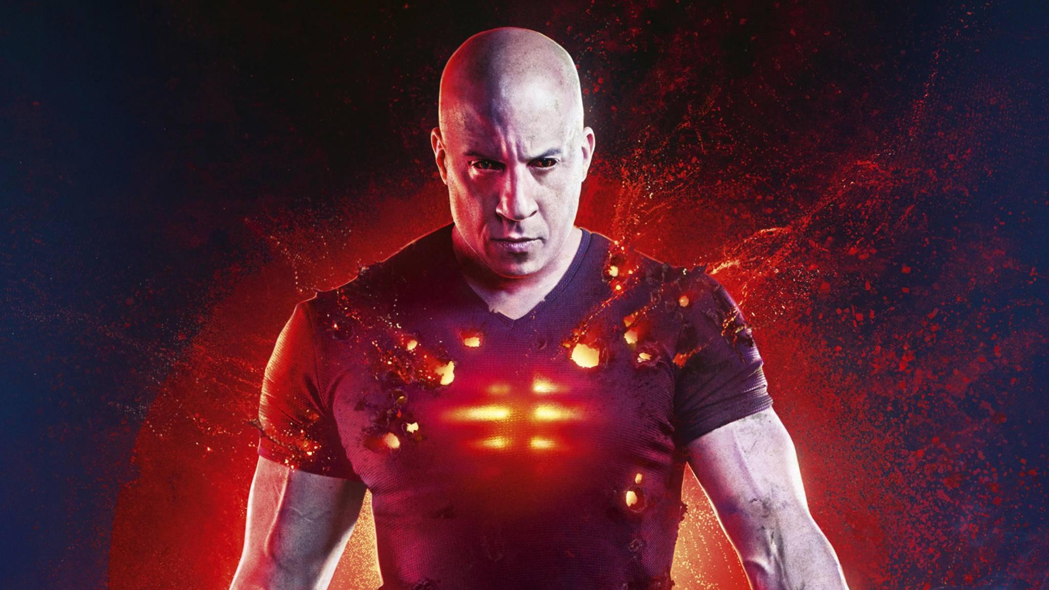 """""""Bloodshot"""" hat vor allem Vin Diesel zu bieten."""