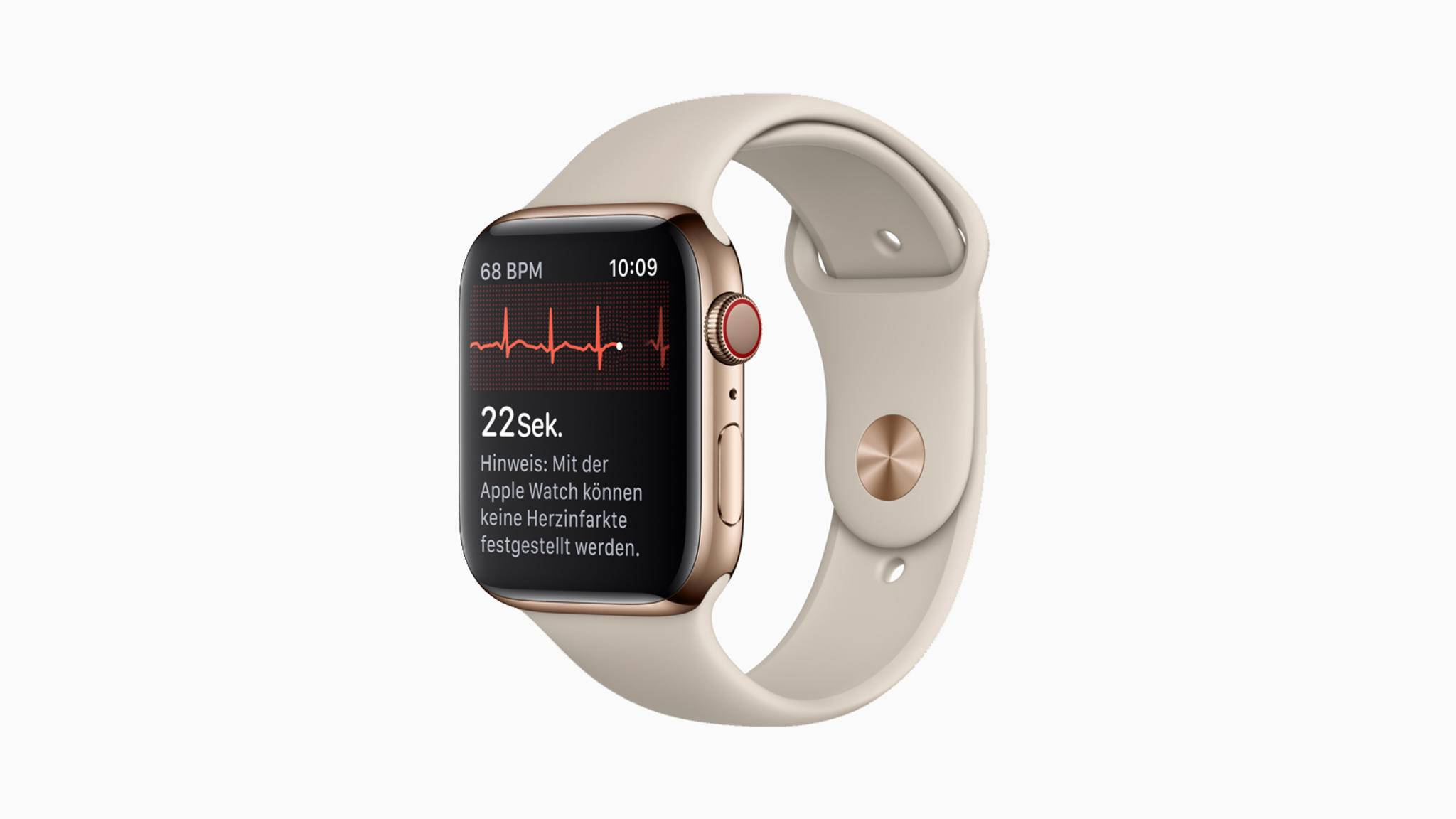 Eine Herzensangelegenheit: Apple spendiert seiner Smartwatch mit iOS 14 ein Gesundheits-Update.