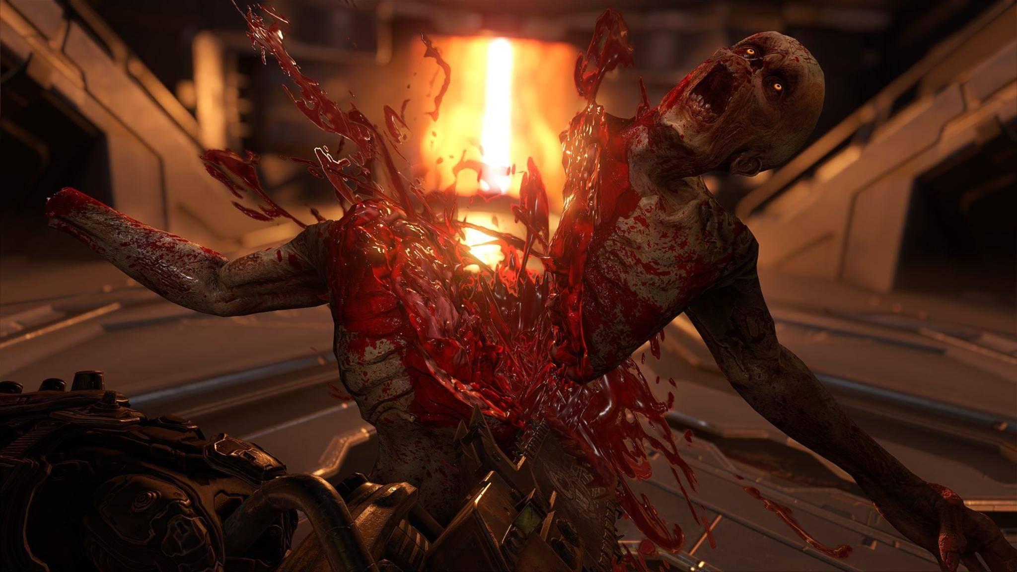 """So fühlen sich schwächere PCs, wenn Du bei """"Doom Eternal"""" die Grafik hochdrehst."""