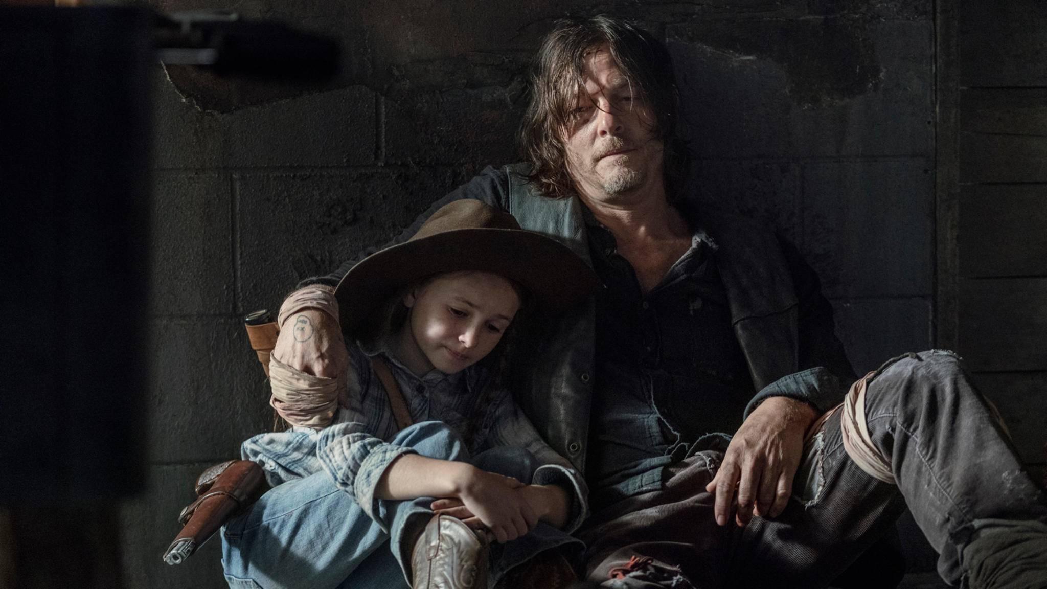 Die Rolle als Ersatz-Dad steht Daryl echt gut.