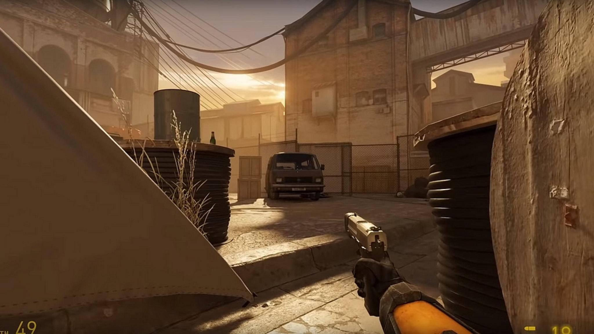 "So sieht ""Half-Life: Alyx"" ohne VR aus."