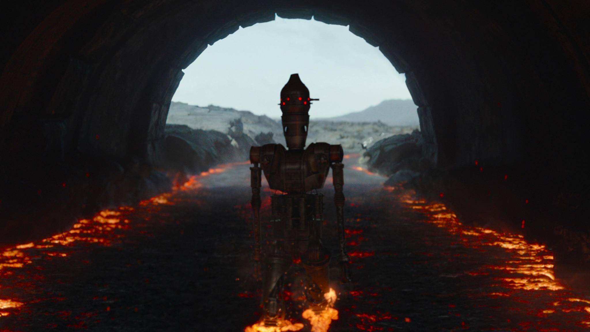The Mandalorian IG-11 Taika Waititi S01E08