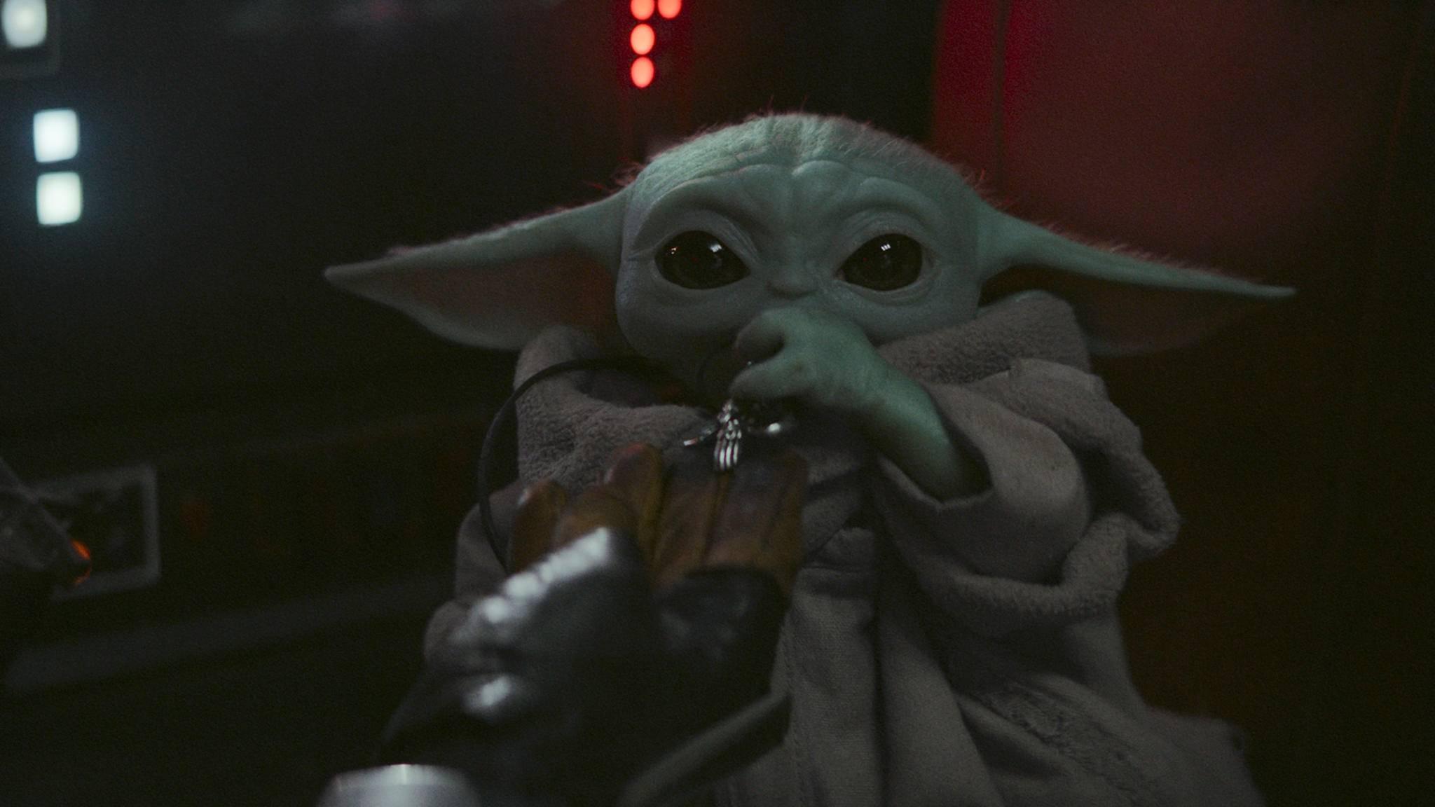 The Mandalorian Baby Yoda S01E08