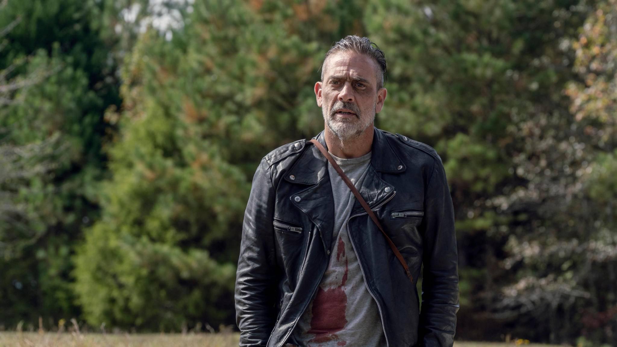 The Walking Dead Jeffrey Dean Morgan Negan