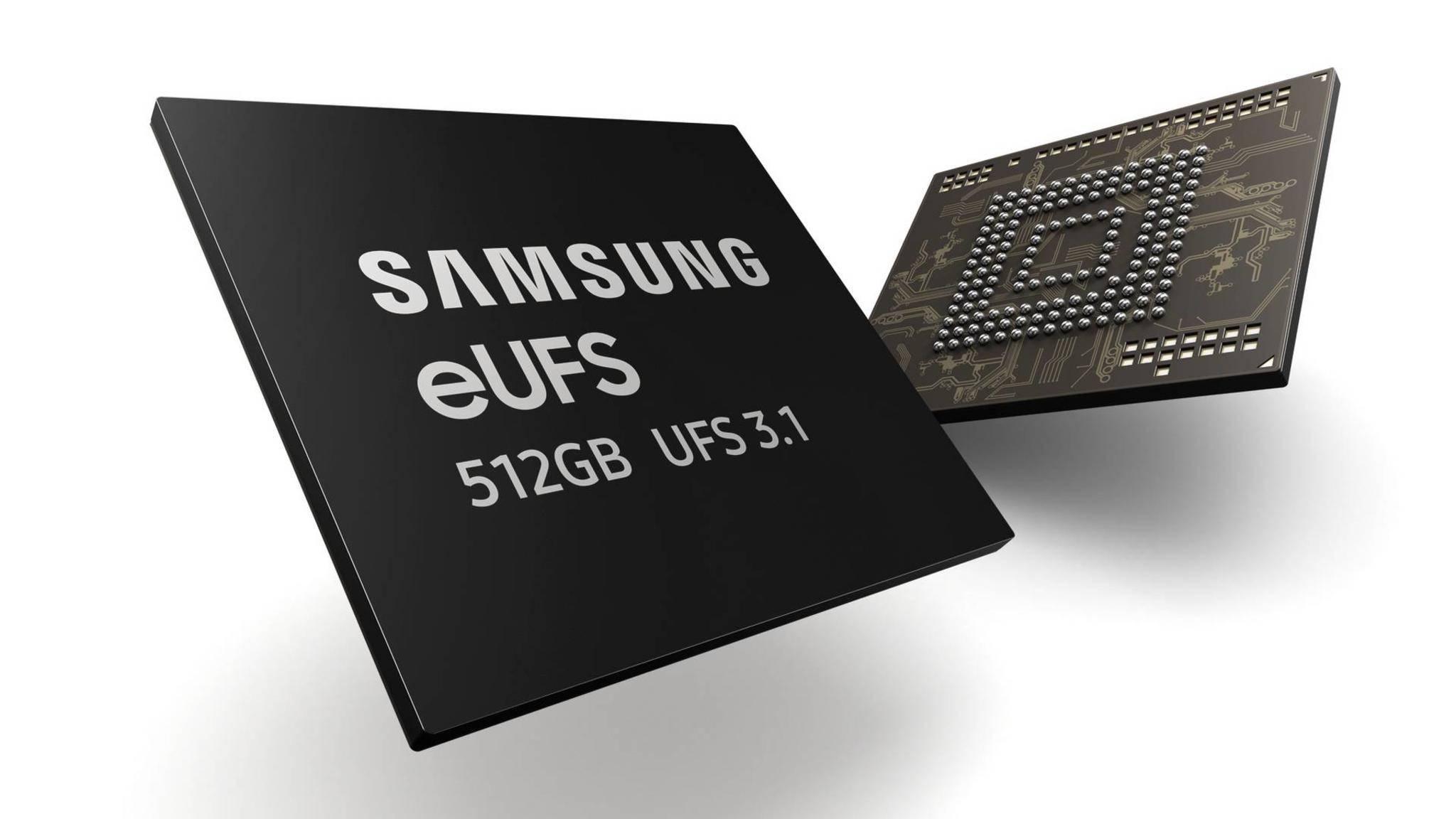 Samsung baut den bislang schnellsten Smartphone-Speicher.