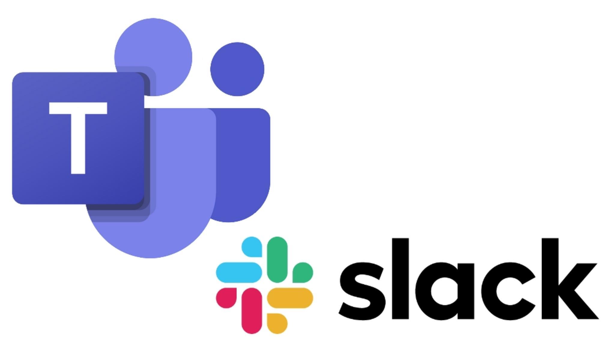 Slack und Teams wollen ihre Zusammenarbeit verstärken.