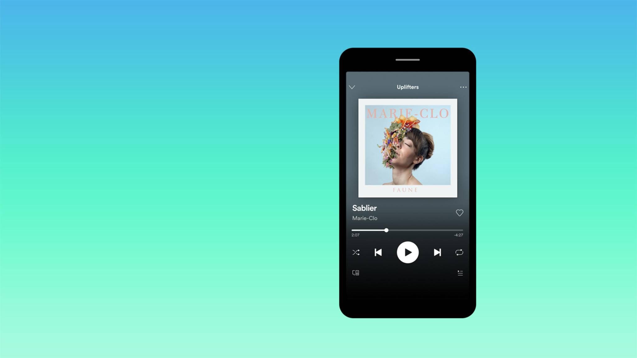 Spotify verbessert seine Smartphone- und Tablet-App kontinuierlich.