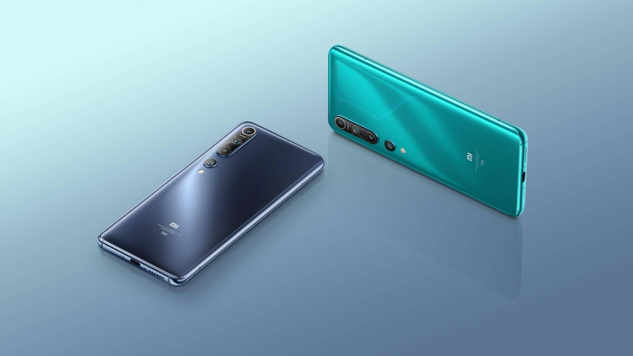 Das Xiaomi Mi 10 hat einen stolzen Preis.