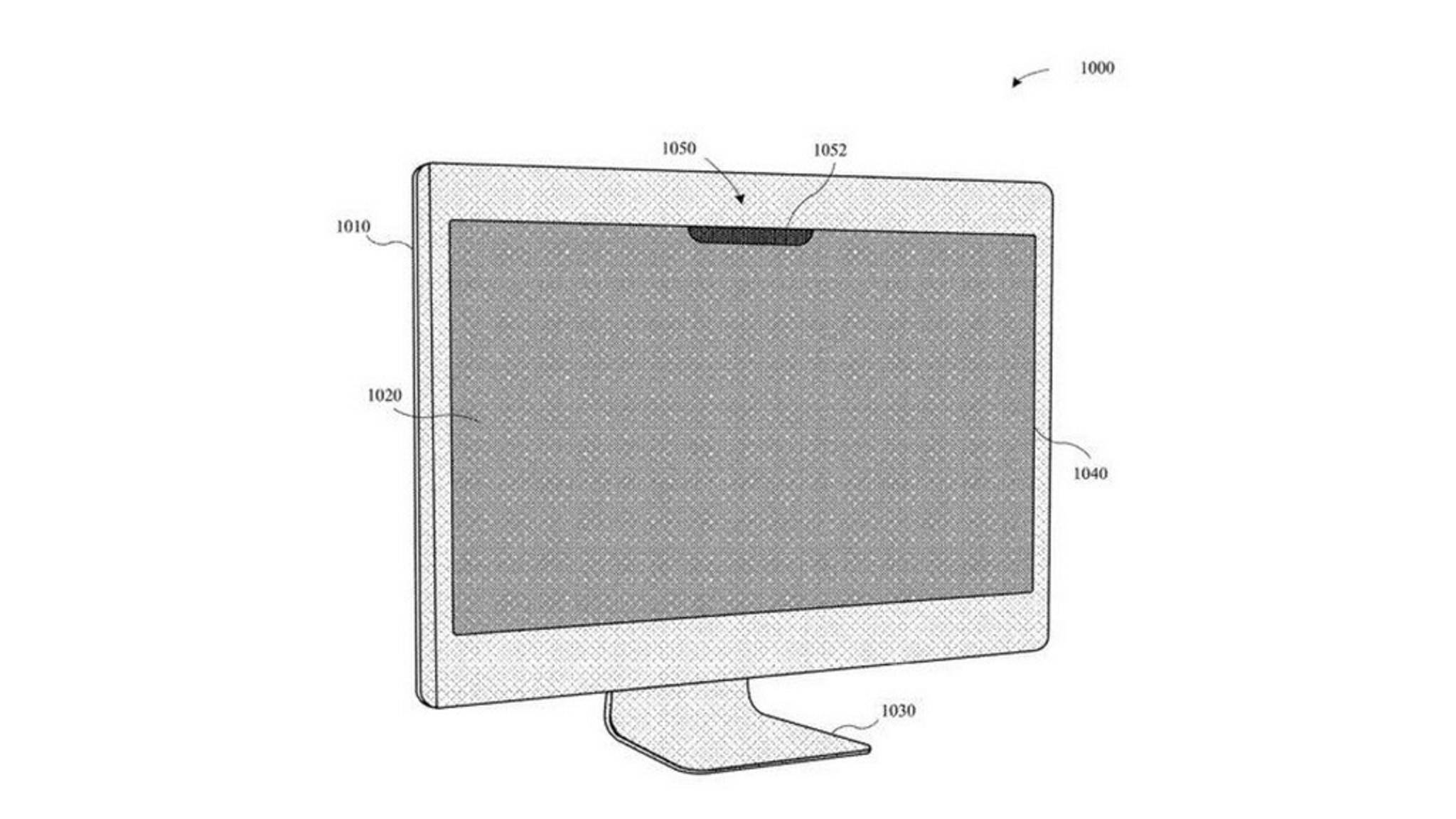 So könnte ein iMac mit Notch und Face ID aussehen.