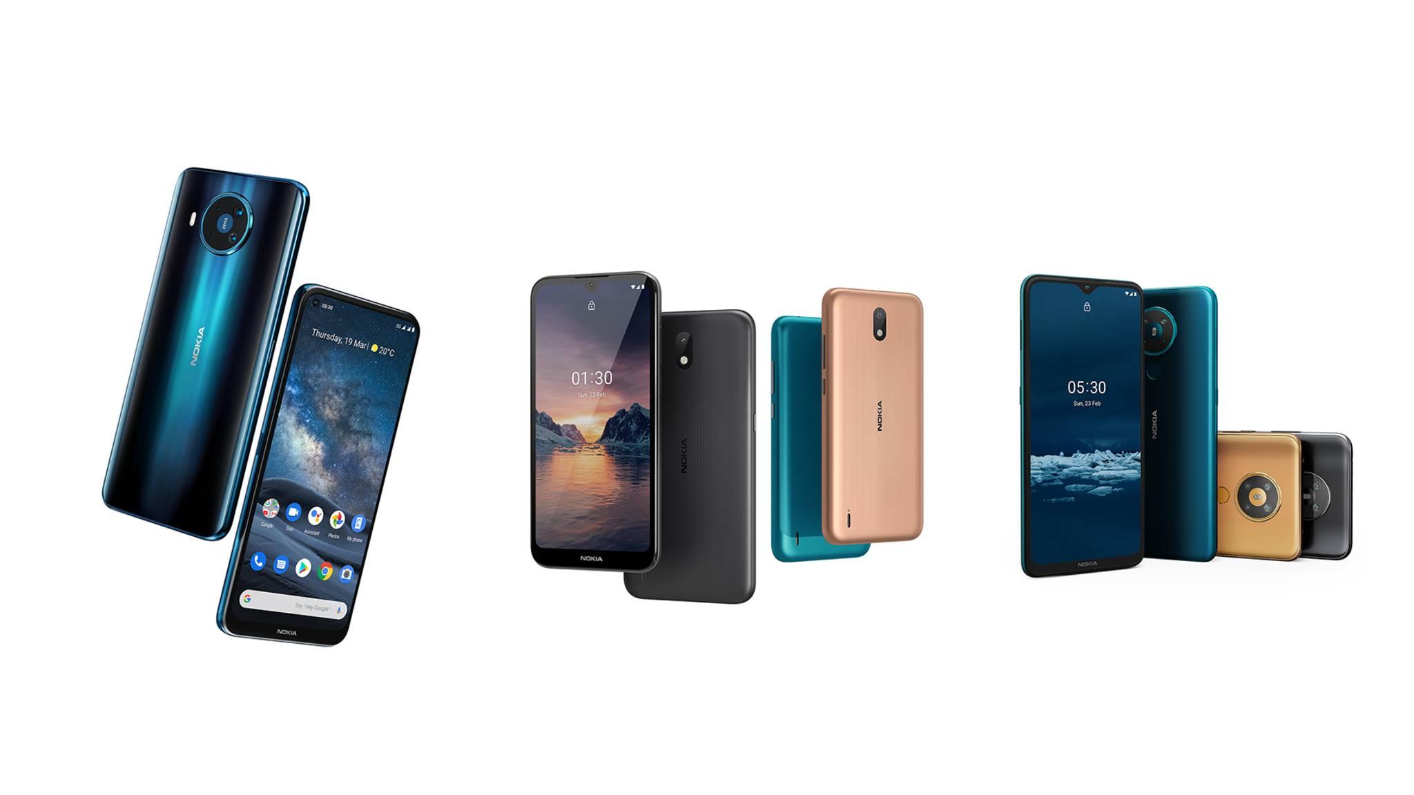Nokia hat neue Smartphones angekündigt.