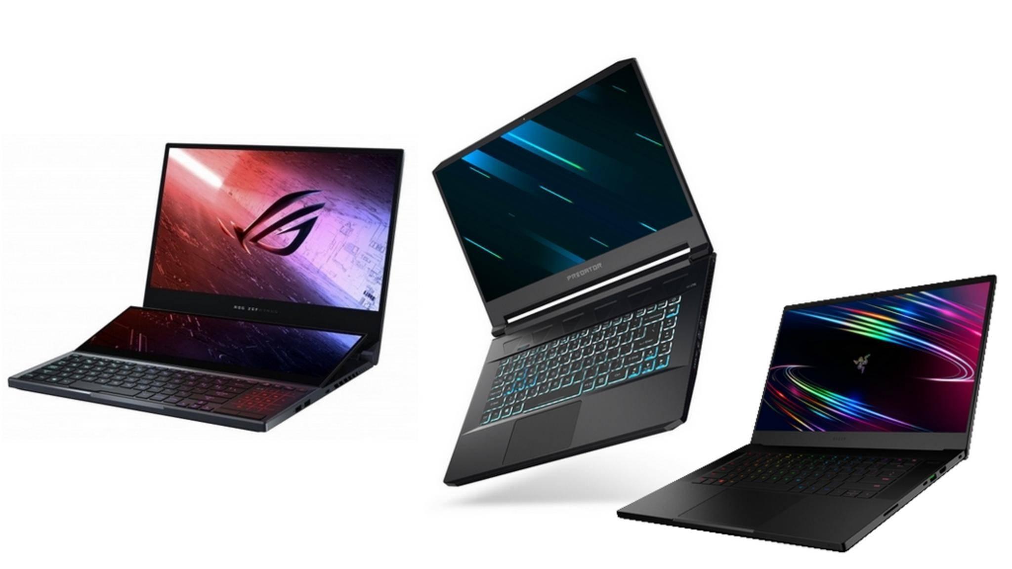 Die ersten Laptops mit den neuen Intel-Prozessoren sind im Anmarsch.