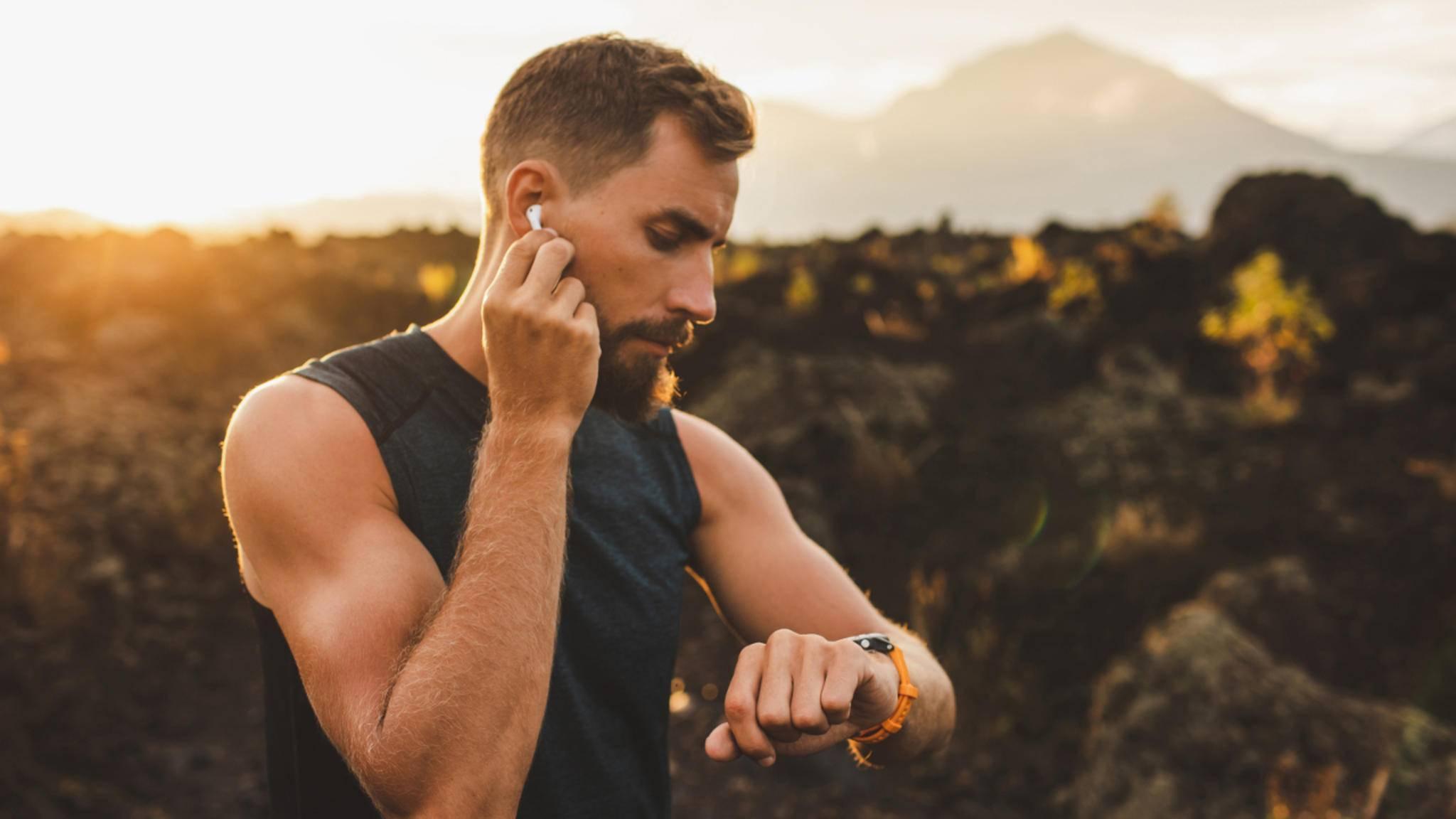 Sport-Kopfhörer In-Ears Bluetooth