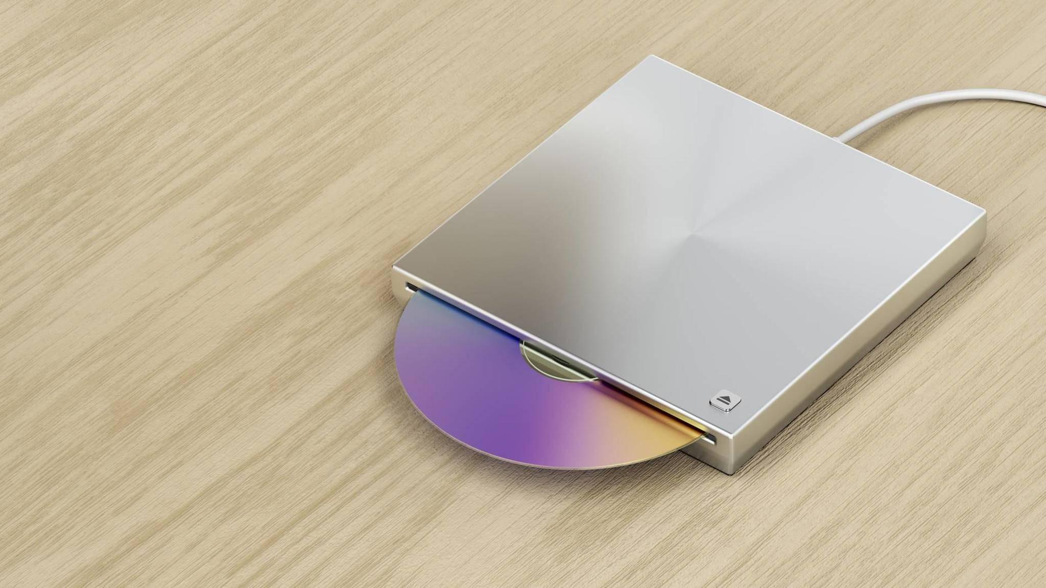 Externes-DVD-Laufwerk