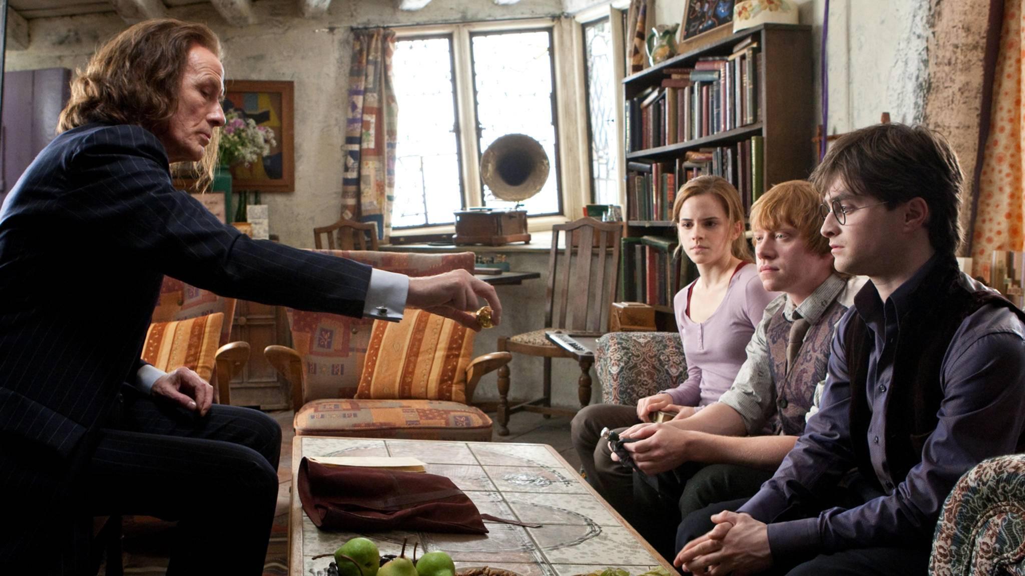 Harry Potter Heiligtuemer des Todes Teil 1 hermine granger ron weasley emma watson rupert grint daniel radcliffe