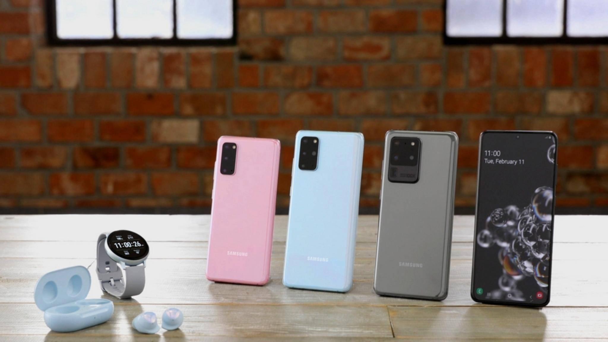 Samsung-Glaxy-S20-Smartwatch-Buds