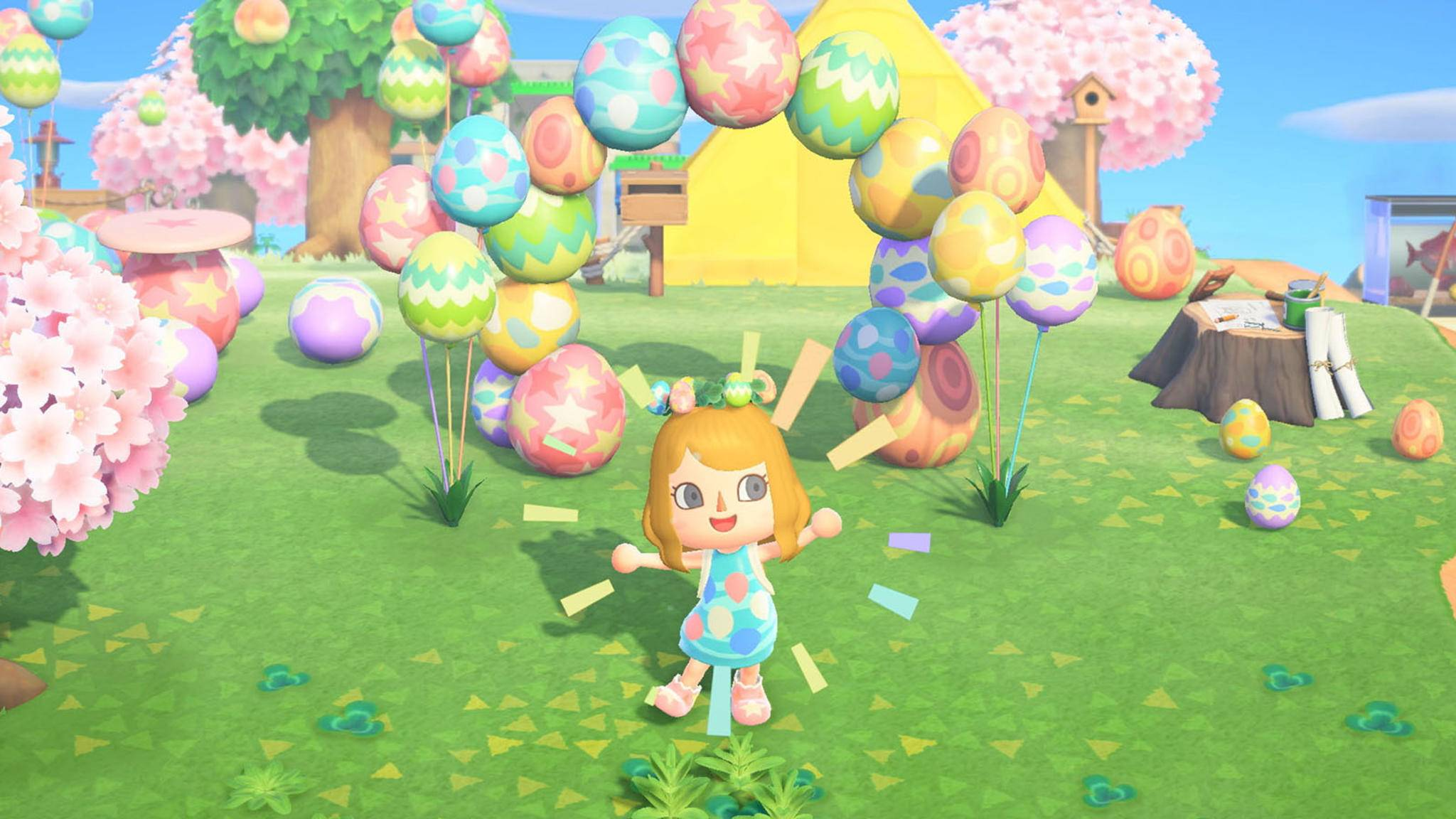 Animal Crossing Oster Event