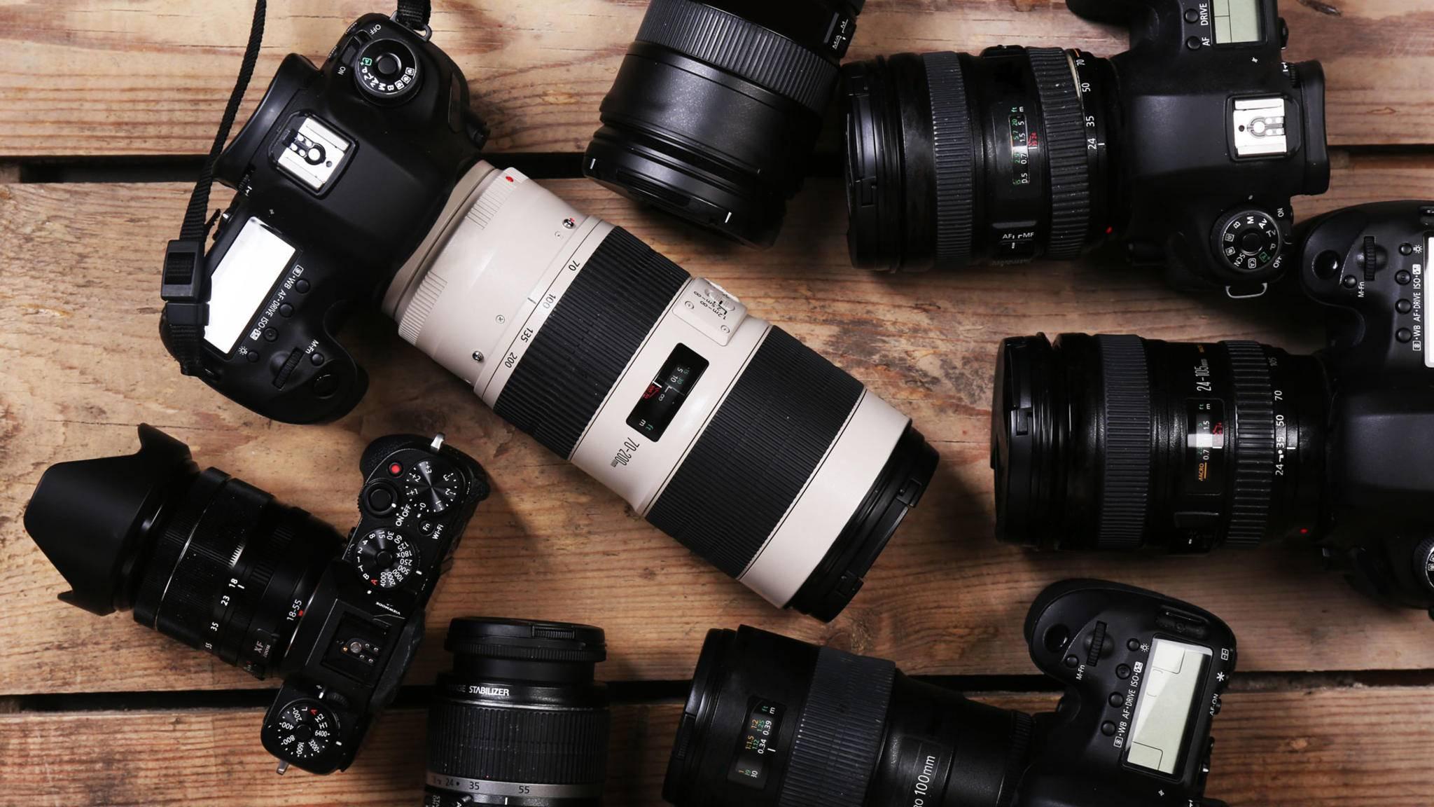 Kamera kaufen: Es gibt für jeden Fotografier-Typen das passende Modell.