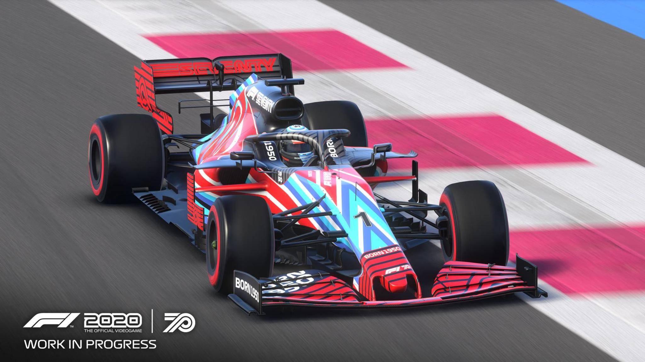 """Daniel Abt ließ den E-Sport-Profi Lorenz Hoerzing ein virtuelles Rennen für sich fahren – der Schwindel flog auf. (Symbolbild: """"F-1 2020 """")"""