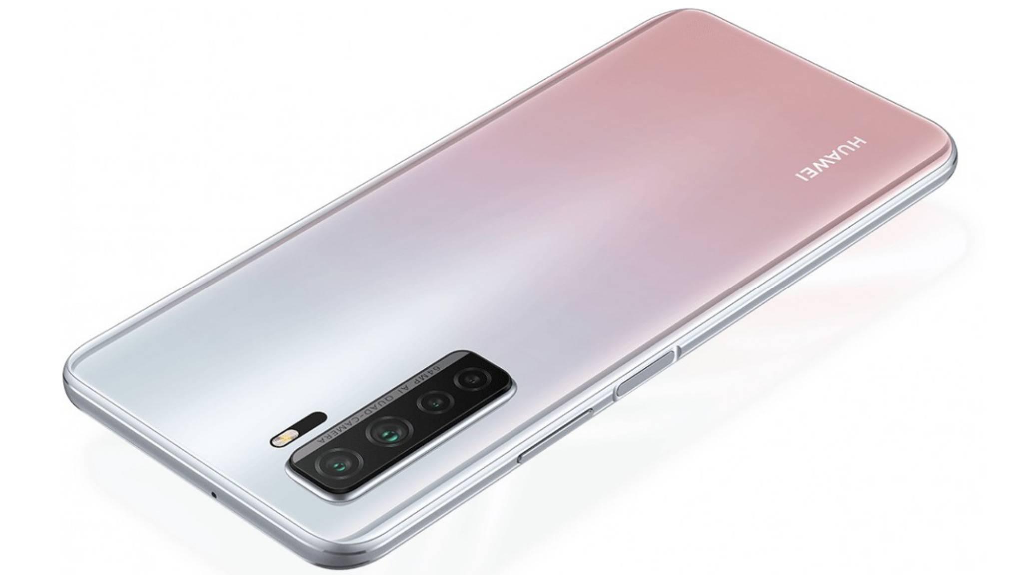Huawei p40 Lite 5g rückseite
