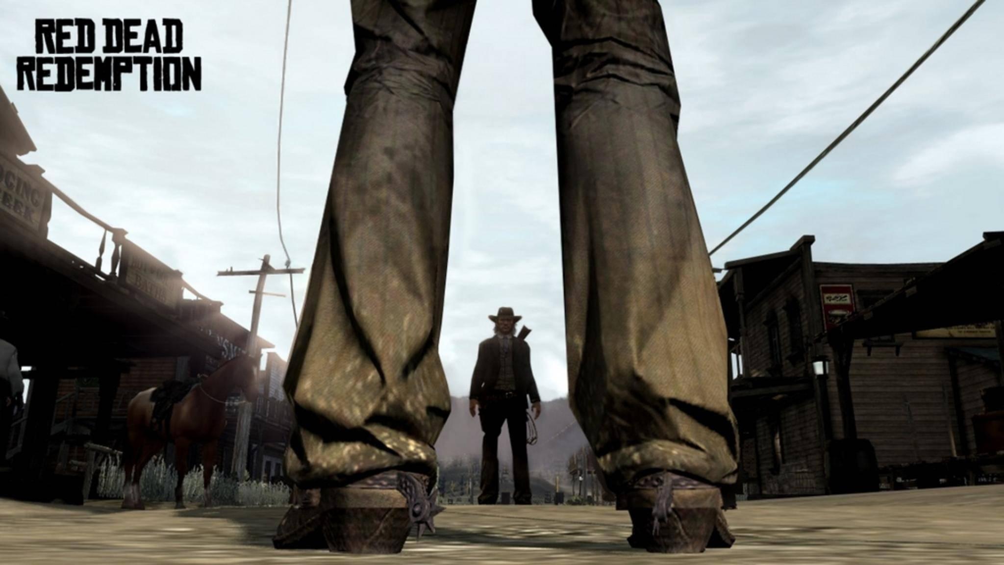 """""""Red Dead Redemption"""" transferiert das Western-Genre erfolgreich ins Videospiel."""
