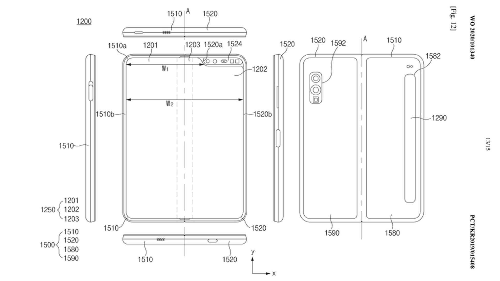 Samsung-Galaxy-Fold-Lite-Patentantrag