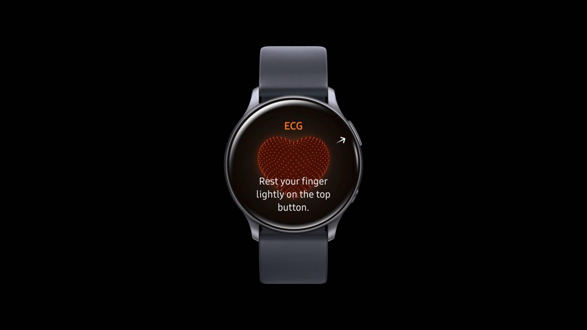 Samsung galaxy watch active 2 ekg