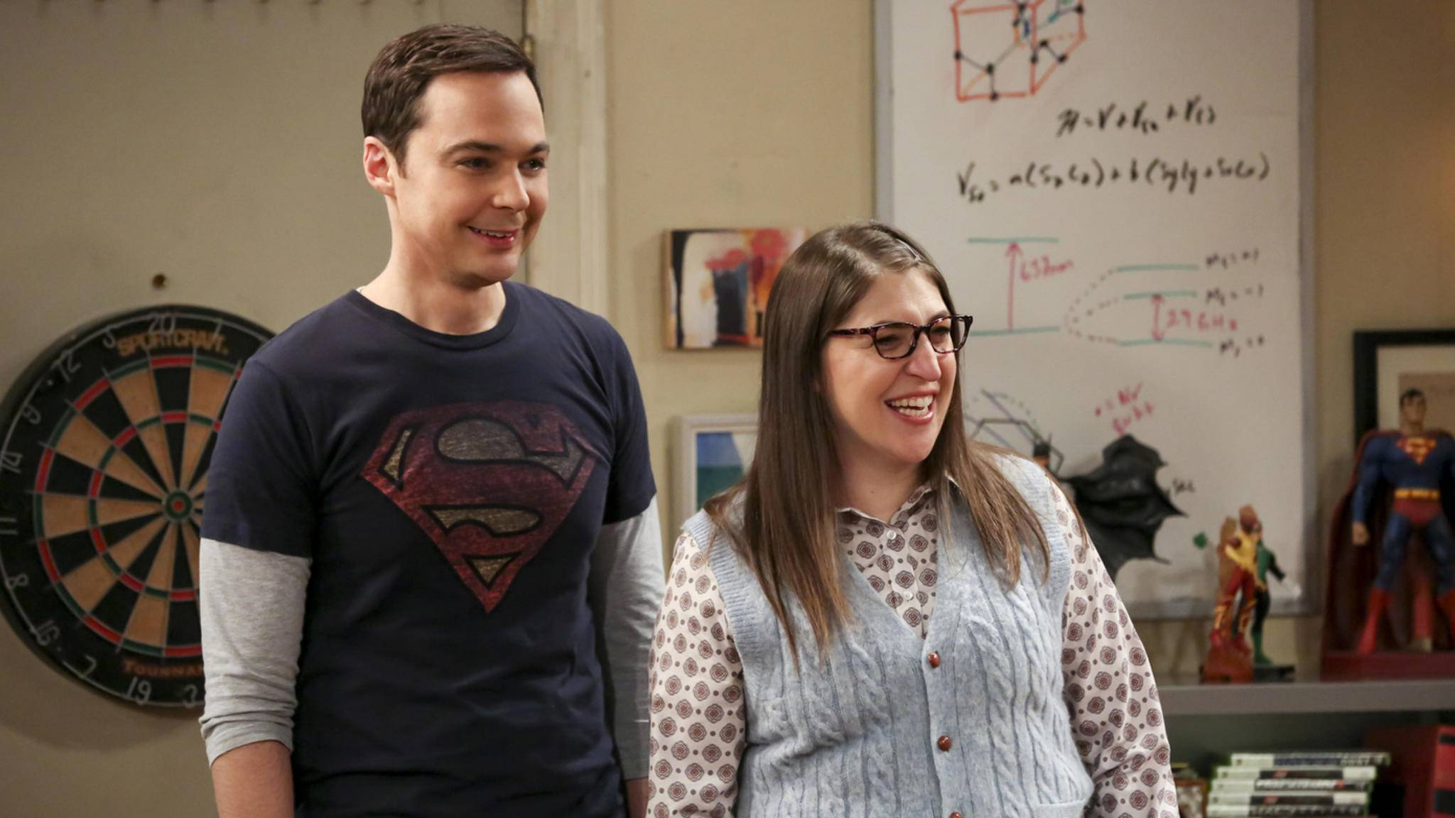 The Big Bang Theory Sheldon Amy