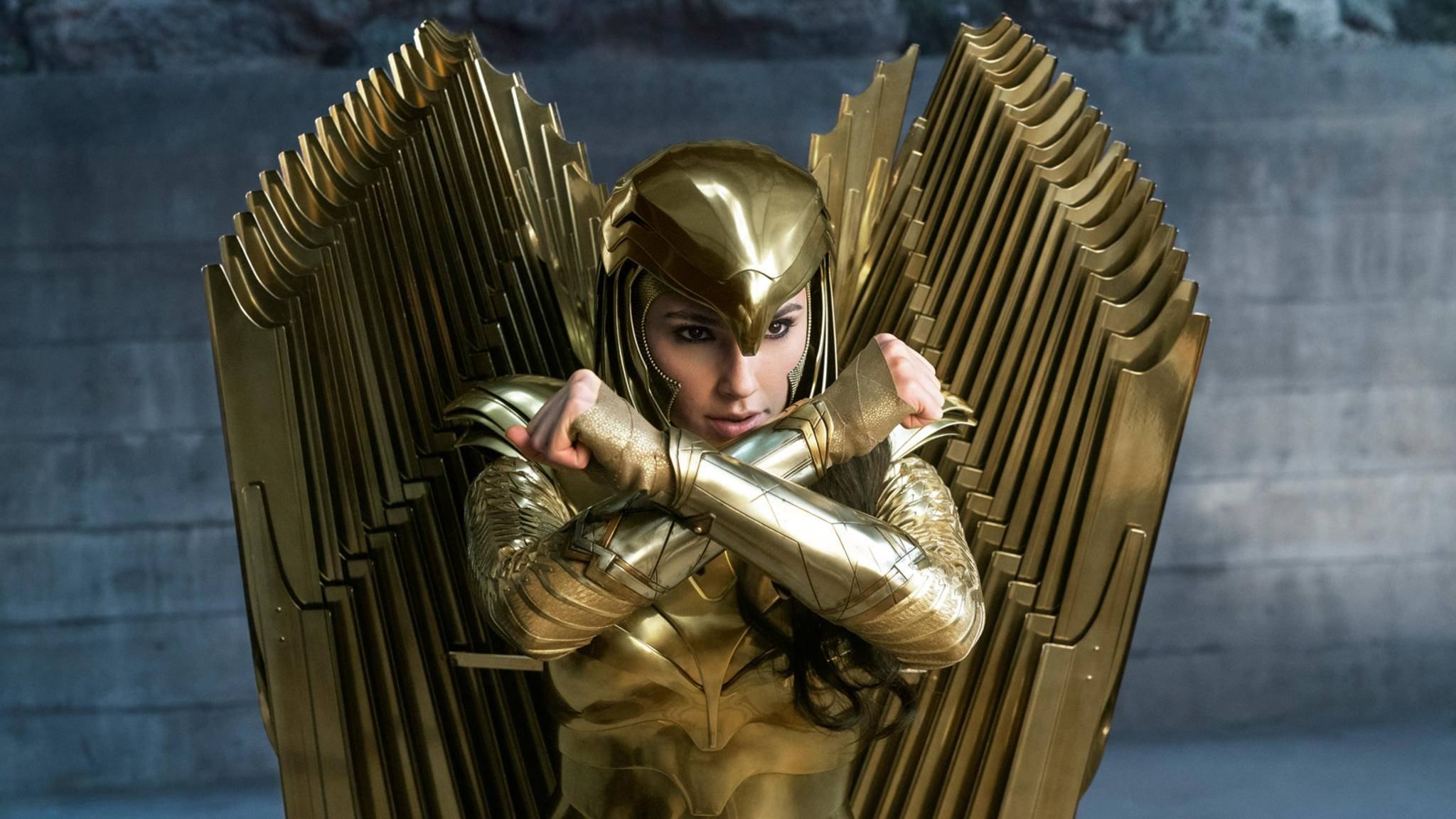Wonder Woman 1984 Gal Gadot Golden Eagle Rüstung