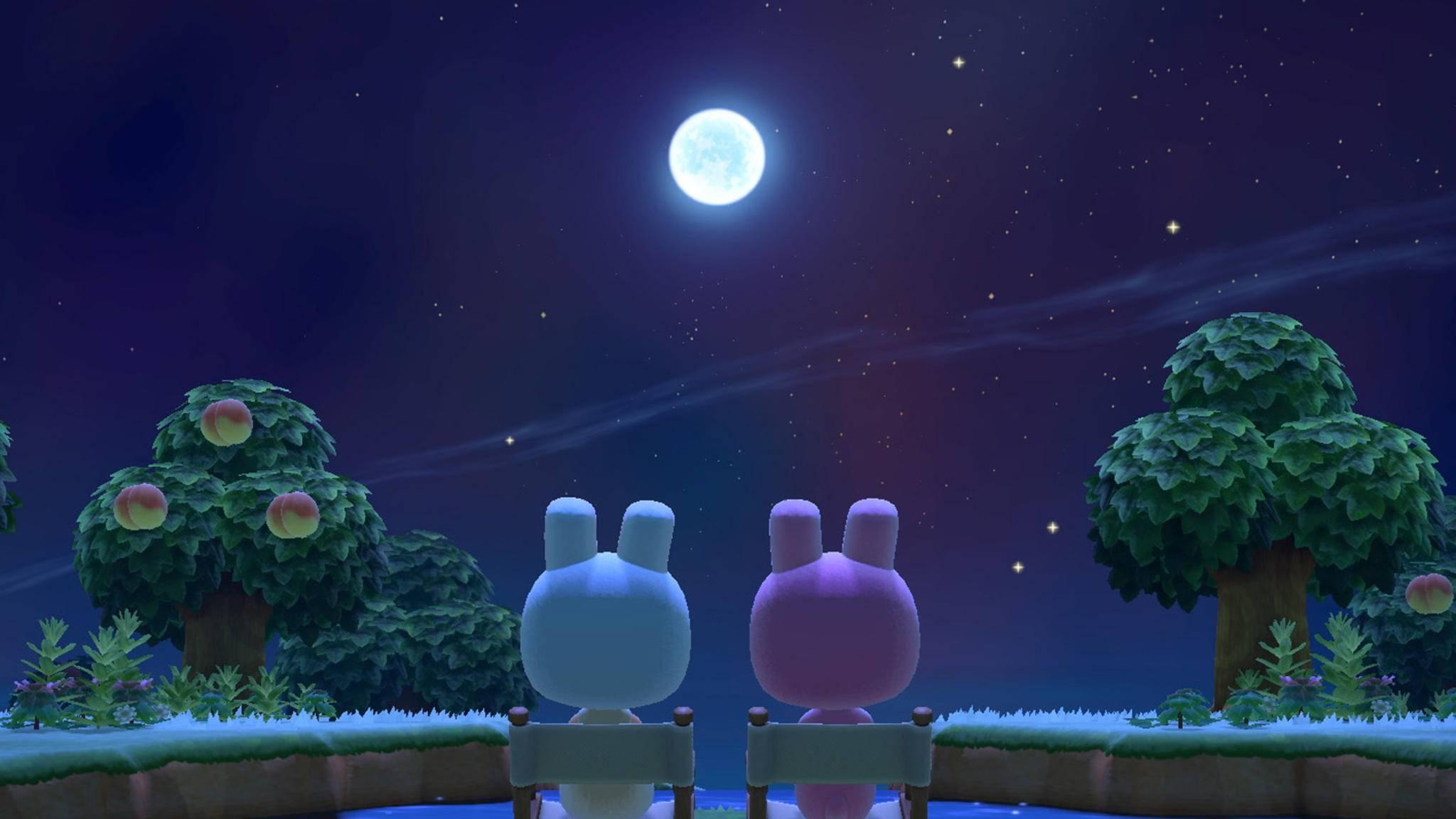 Animal Crossing New Horizons Vollmond